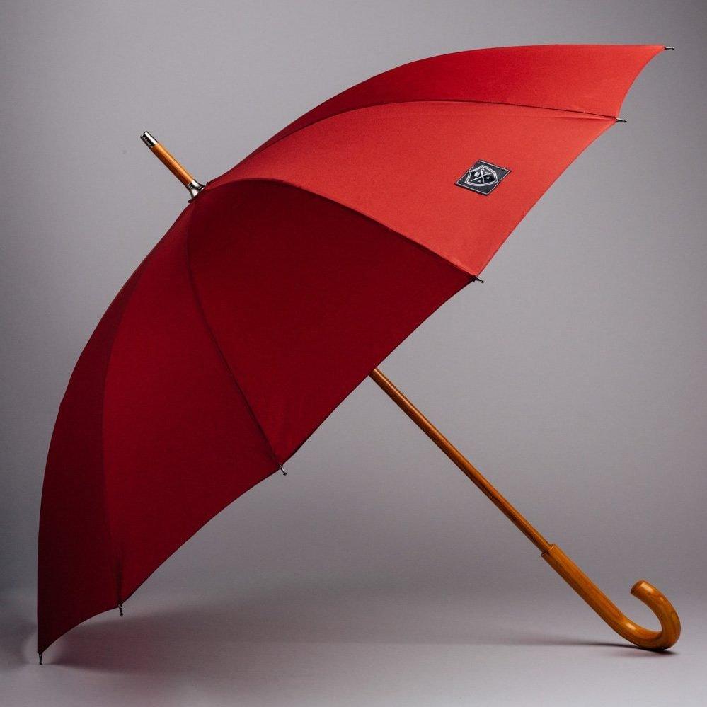 dark red top umbrella large style