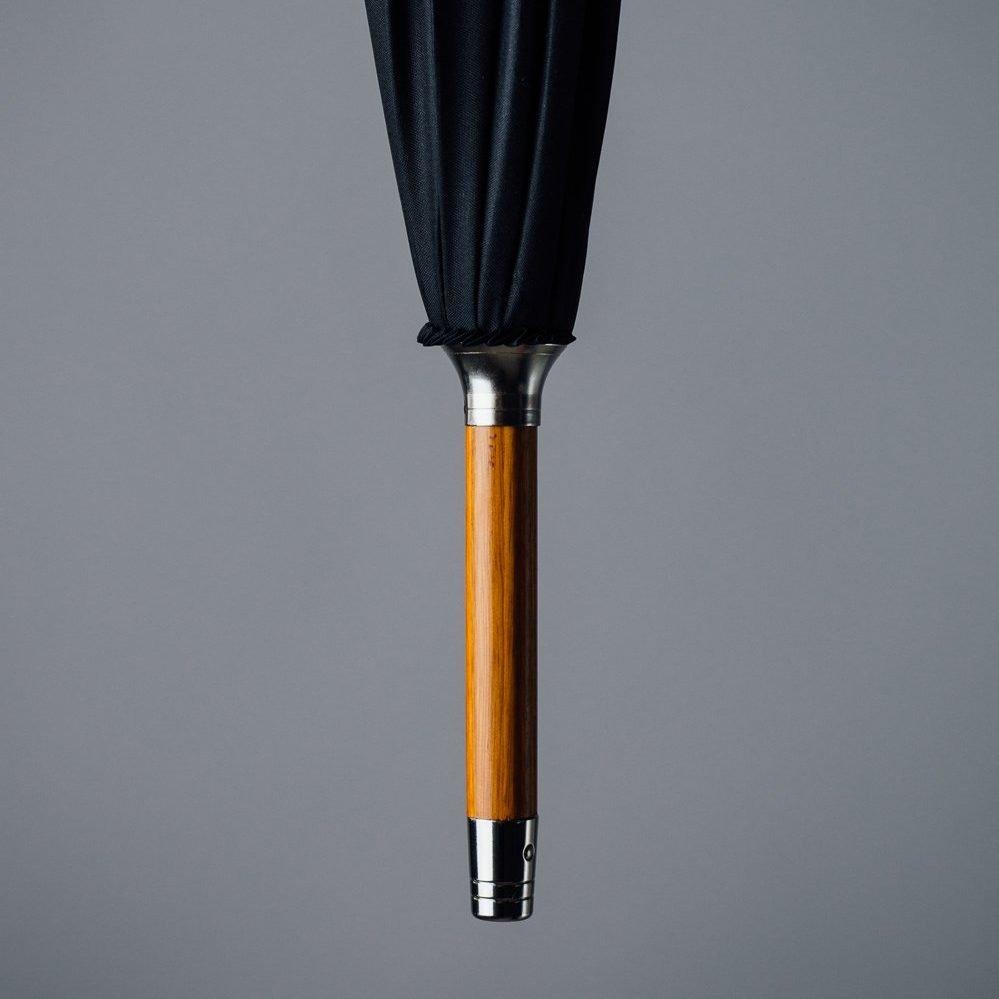 classic tip of black umbrella