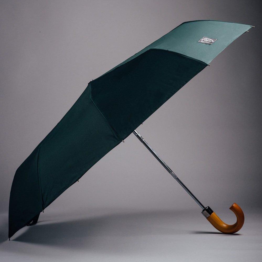 small dark green umbrella