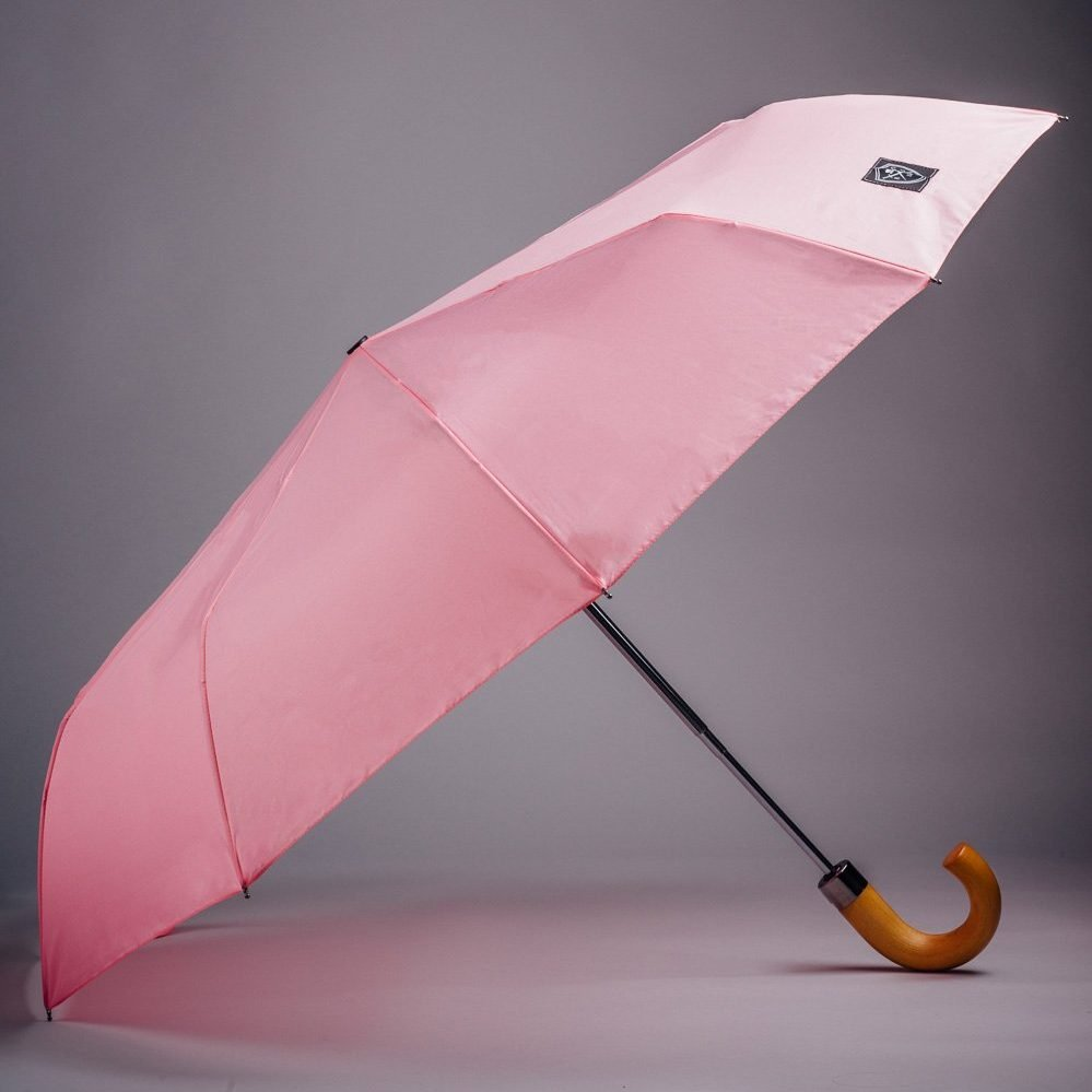 the pink compact umbrella