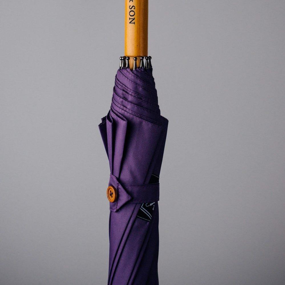 rain and son umbrella wooden handle