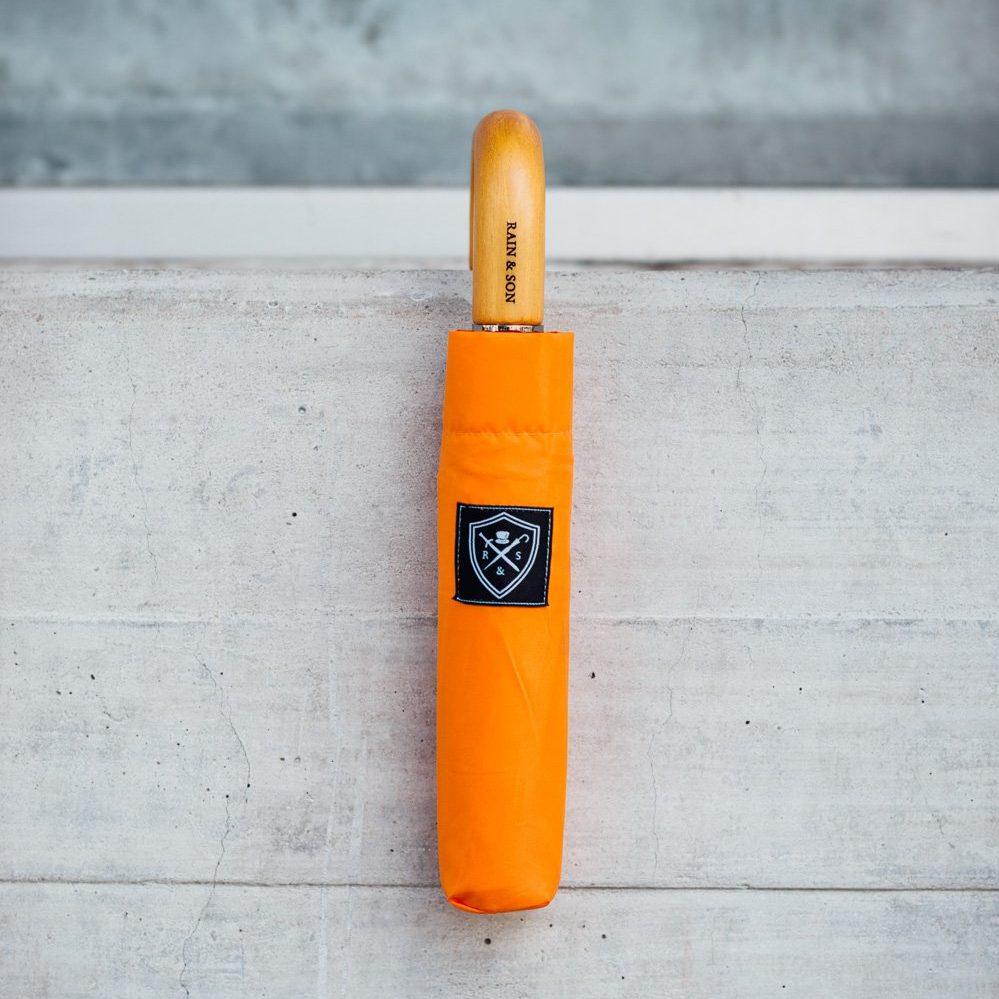 orange umbrella case cover