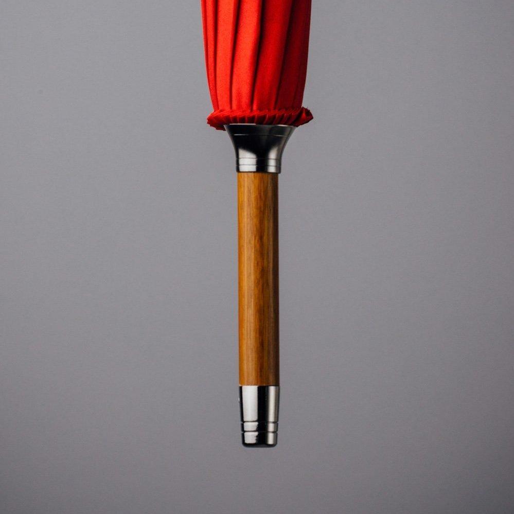 big red umbrella
