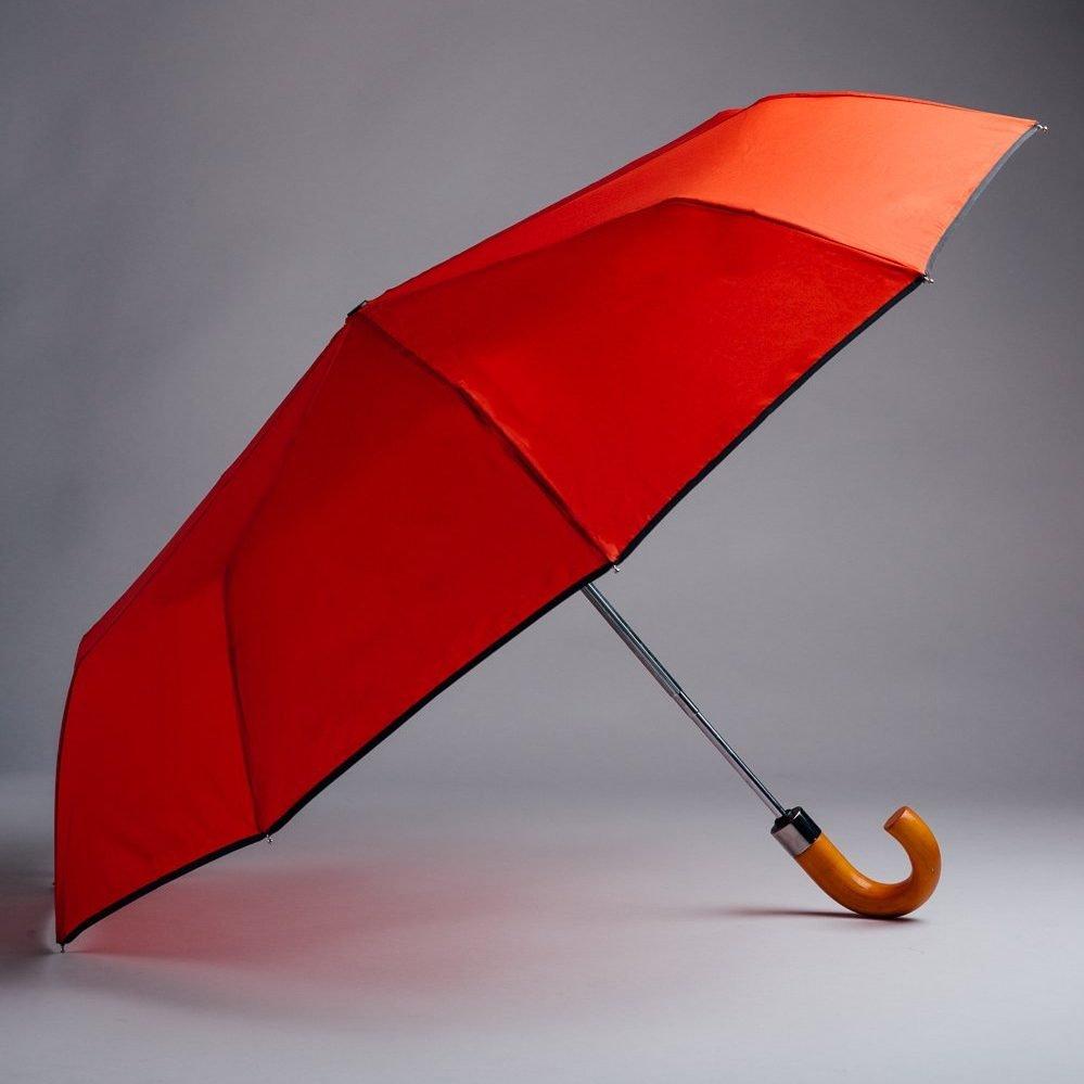 red reflective umbrella