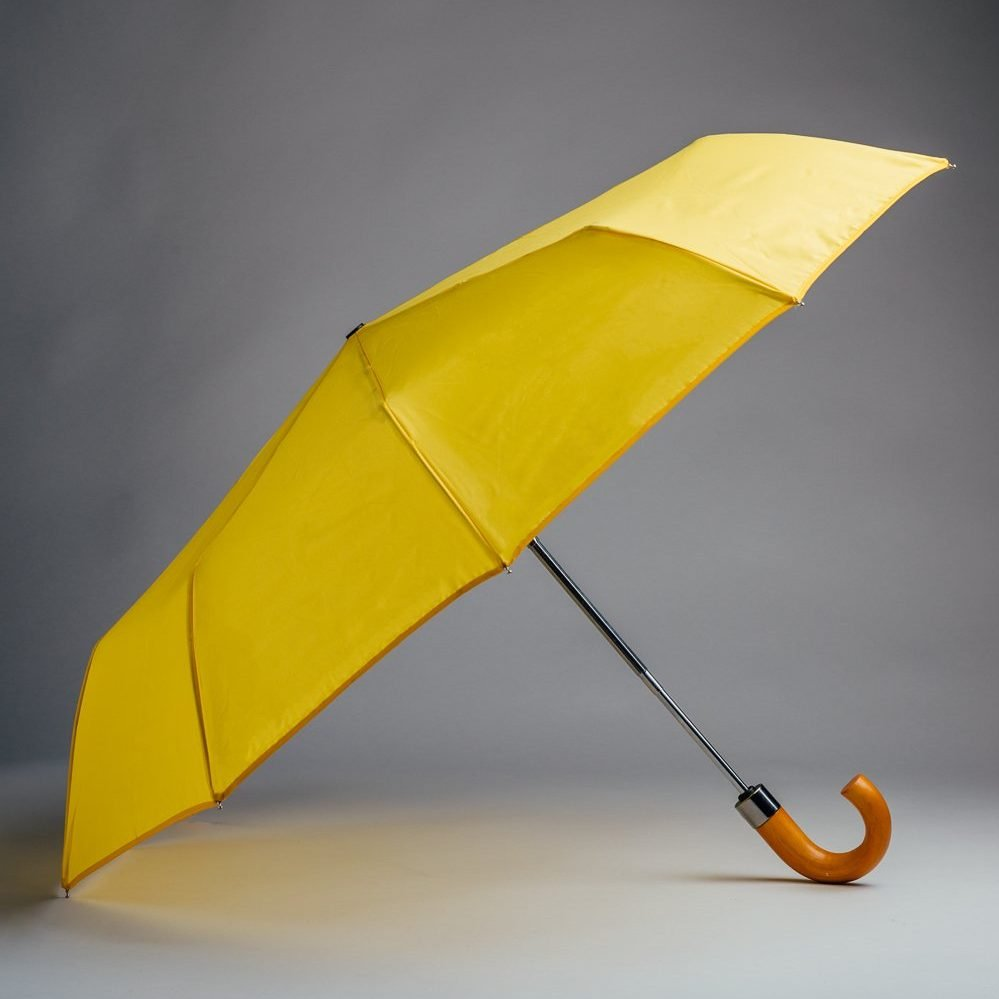 foldable yellow reflective umbrellas